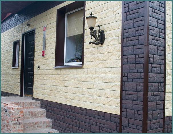 Материал для отделки фасадов жилых домов