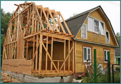 Пристройка к деревянному дому, проекты, мнения-1