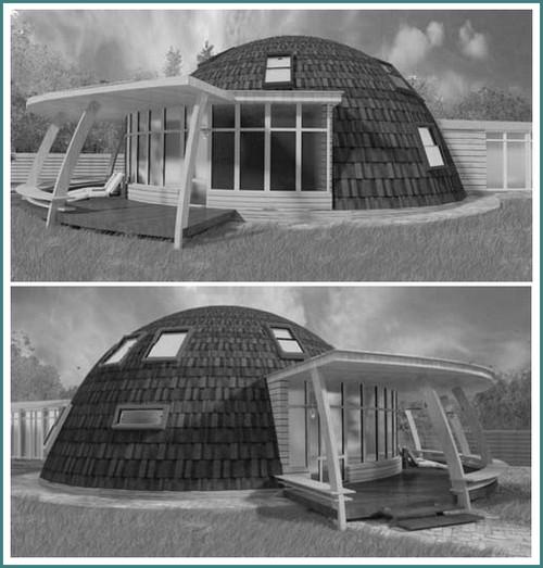 Купольные дома - проекты и цены, анализ-2