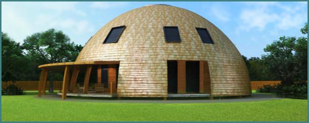 Проекты и фото купольных домов