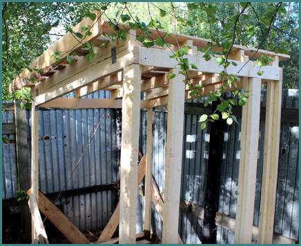 Как построить туалет на даче своими руками-6