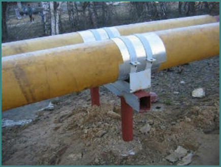 Скользящая опора под трубопровод, анализ-1