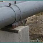 Зачем нужна скользящая опора под трубопровод