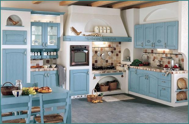 Фото интерьера кухни в стиле Прованс, аналитика