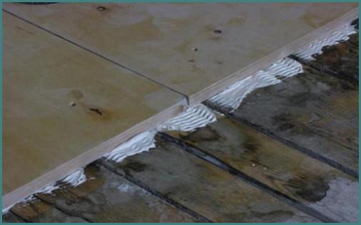Можно ли класть плитку на деревянный пол, аналитика-1