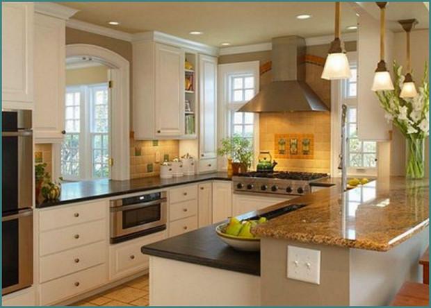 П-образные кухни с окном, аналитика-5