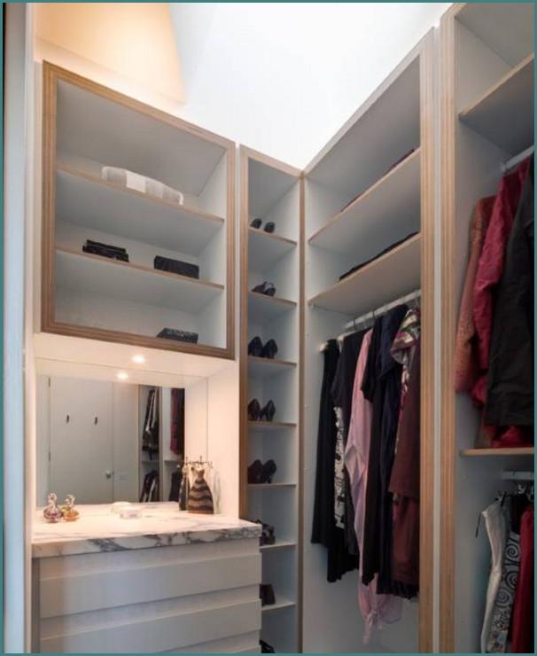 Маленькие гардеробные комнаты, обзор-2