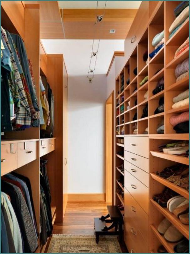 Маленькие гардеробные комнаты, обзор-5