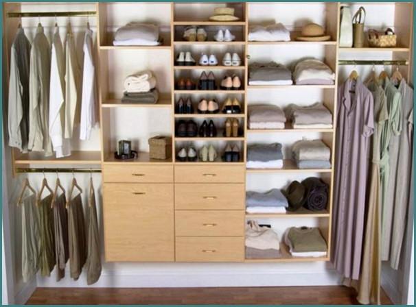 Маленькие гардеробные комнаты, обзор-6