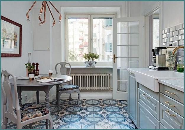 Кухни 12 кв. метров, дизайн, проекты, обзор-5