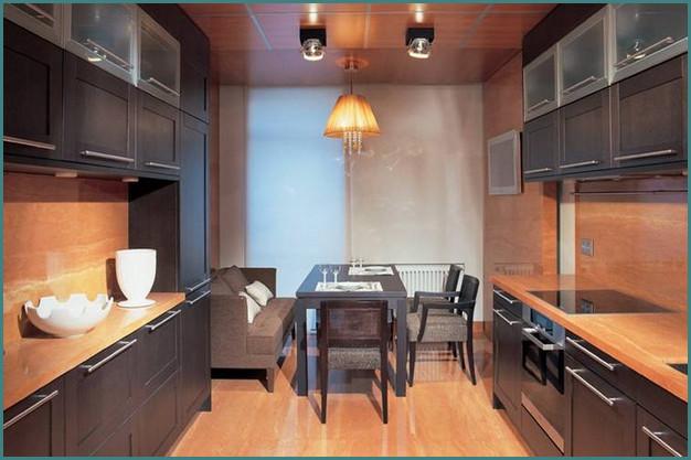 Кухни 12 кв. метров, дизайн, проекты, обзор-6