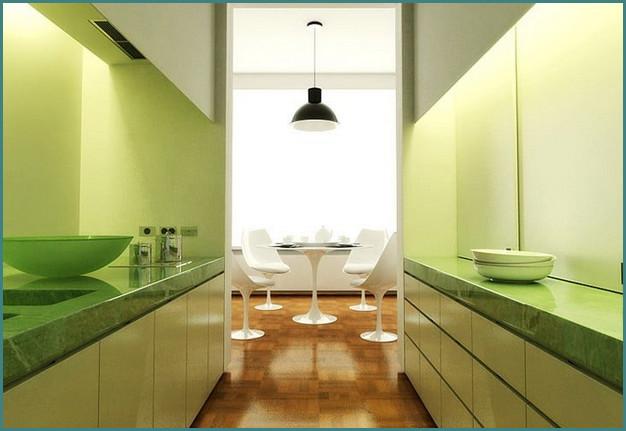 Кухни 12 кв. метров, дизайн, проекты, обзор-7