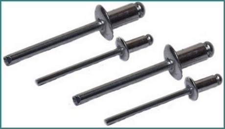 Все размеры вытяжных алюминиевых и стальных заклепок, аналитика-1