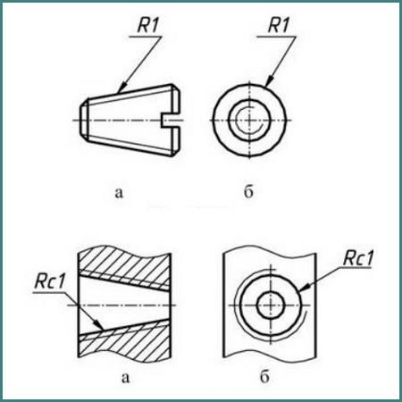 Обозначение трубной резьбы на чертеже, анализ-2