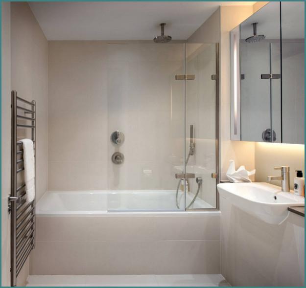 Современные идеи 2017 интерьера ванных комнат с фото, обзор-1