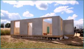 Постройка каркасно-панельных домов