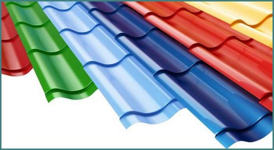 Размер металлочерепицы для крыши, длина и ширина листа Монтеррей