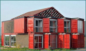 Дома из контейнеров - фото и проекты, обзор-1