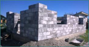 Технология постройки домов из пено- и газоблоков