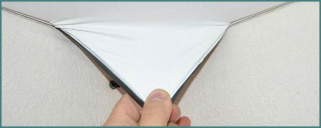 О том, как снять своими руками натяжной потолок правильно и быстро