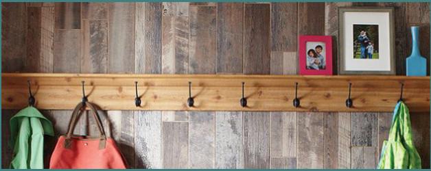 Ламинат на стене в интерьере, фото и варианты отделки