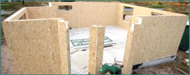Обзор домов из СИП панелей