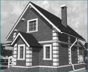 Каркасные дома 6х8 с мансардой – проекты, идеи, решения-1