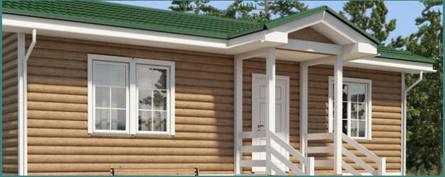 О проектах одноэтажных каркасно-щитовых домов