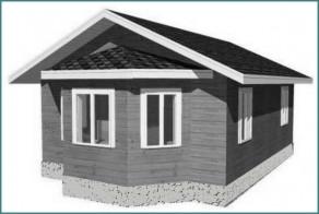 Каркасный дом 6 на 8, проект, советы-1