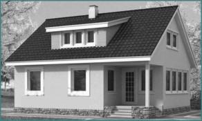 Выбираем готовый проект каркасно-щитового дома-3