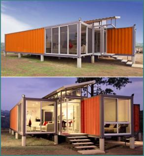 Обзор модульных домов из контейнеров - фото, пояснения, анализ-2
