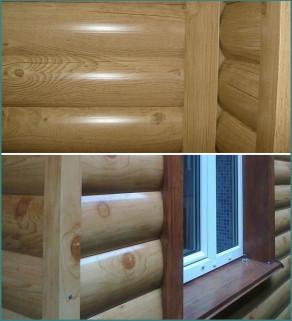 Обзор металлического сайдинга Блок Хаус под бревно с фото-4