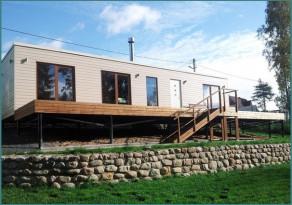 Отличия модульных домов для круглогодичного проживания-2
