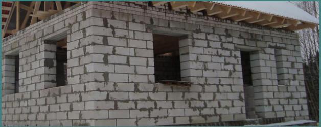 Строительство дома из пеноблоков своими руками с видео и советами