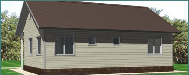 Что мы знаем о дачных одноэтажных щитовых домах эконом класса