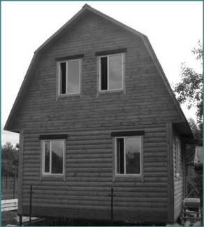 О проектах деревянных домов с мансардой 6х6-1