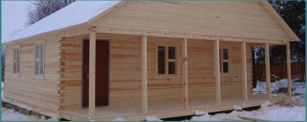 Проекты одноэтажных домов из бруса 9х9 и общие замечания к ним