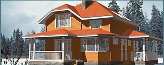 Анализ проекта дома 9х9 из бруса с мансардой
