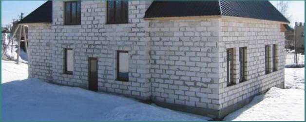 О стандартных размерах пеноблока для строительства стен дома и перегородок