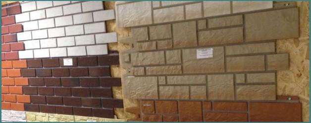 Варианты  отделки фасадов частных домов фасадными панелями